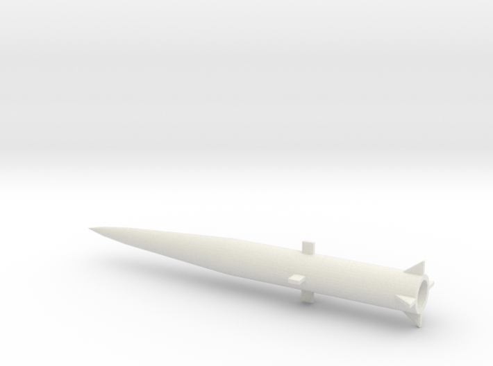 1/200 Scale MGM34 Pershing 1 Missile 3d printed