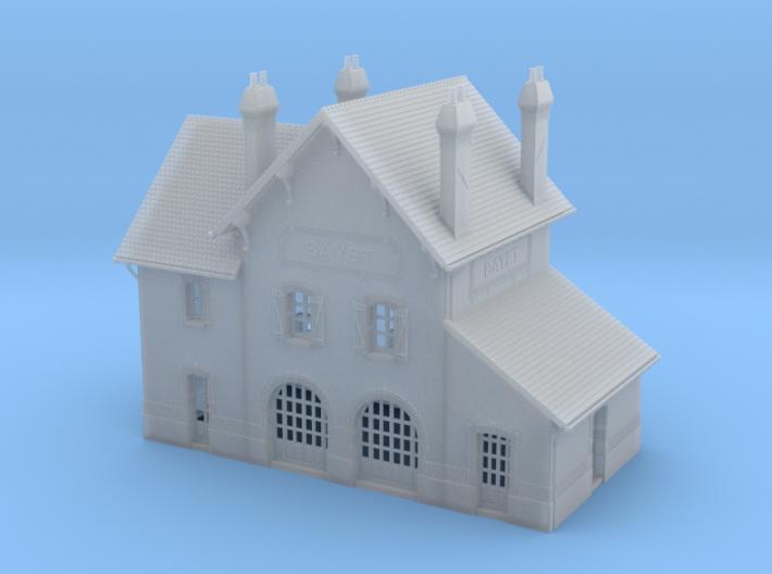 NBay03 - Bayet's traveler building 3d printed