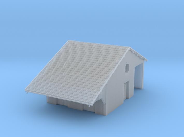 ZBay06b - Warehouse, hall 3d printed