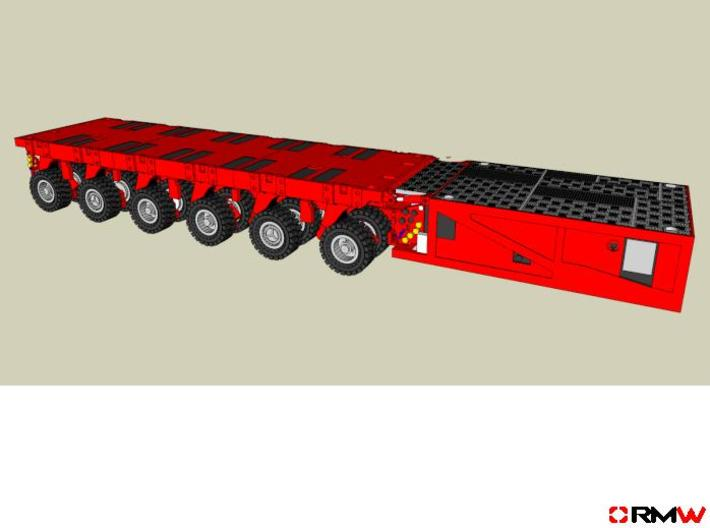 HO/1:87 spmt 6 axle with ppu 3d printed