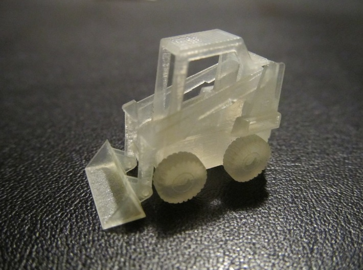 Bobcat Loader (1:400 Scale) 3d printed