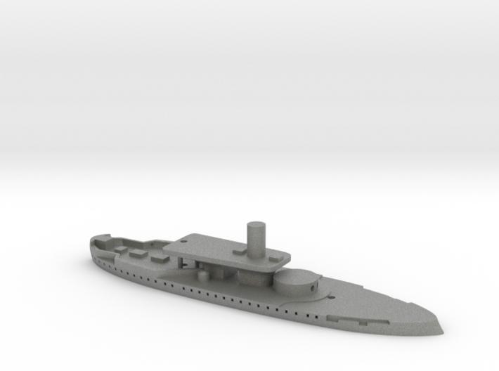 1/1250 HMS Rupert (1872) Gaming Model 3d printed