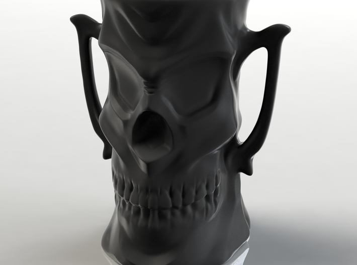 Skull Mug 3d printed A 3D Rendered Preview