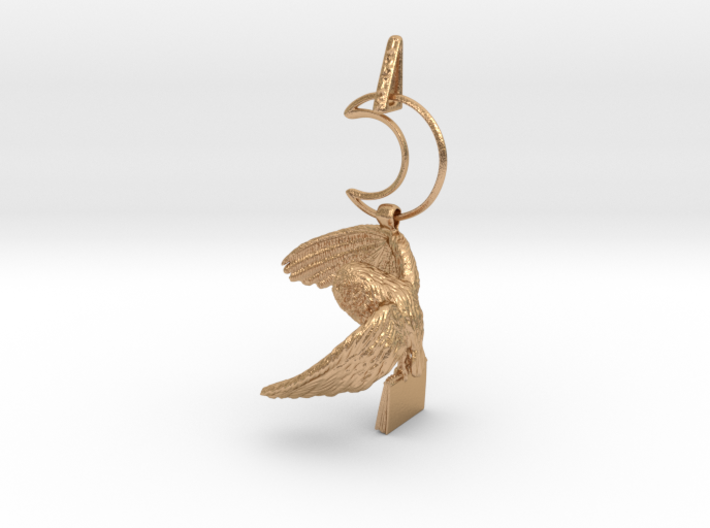Owl Familiar - Pendant - West Coast Witch 3d printed