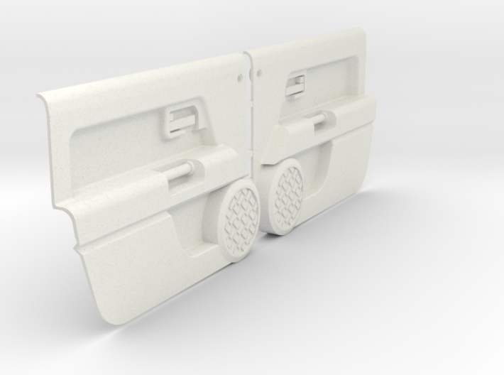 RCN189 door panels for HPI Toyota FJ 3d printed