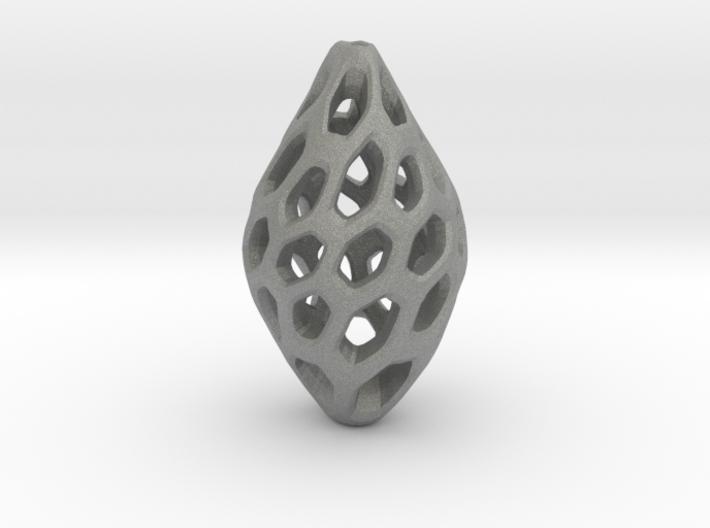 HONEYBIT Twist Pendant 3d printed