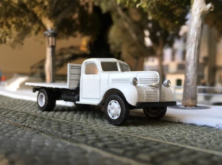 Dodge flatbed truck 1940 - HO 1:87 3d printed