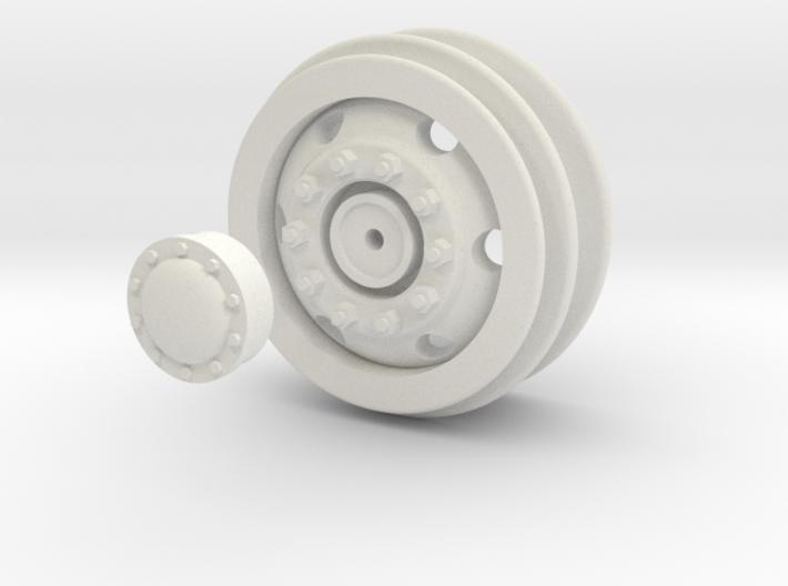 Wheel / Rim for 1/16 WPL Trucks 3d printed