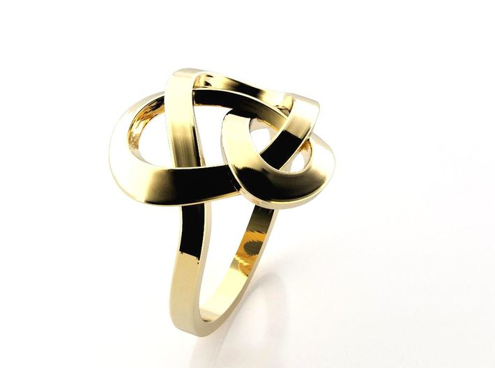 Infinity Love Ring (From $13) 3d printed Kelten Ring