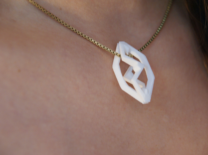 HEAD TO HEAD Ace, Pendant 3d printed