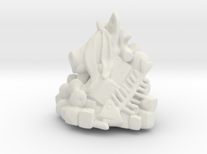 Pile of Trash Sculpture 3d printed