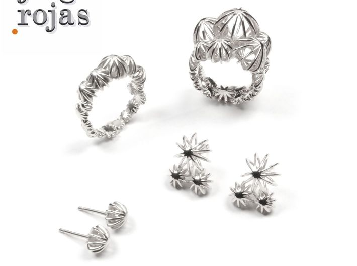 Sea Urchin Ring 3d printed Love you Ring