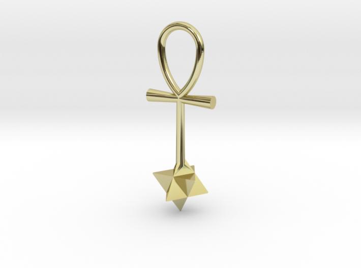 Quantum energy pendant 3d printed