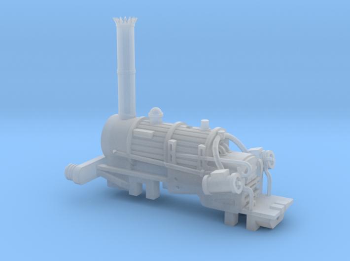 N Gauge Rocket V2 Loco Scratch Aid 3d printed