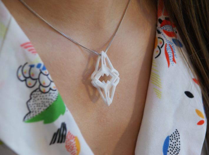 HEART TO HEART Conquest, Pendant 3d printed
