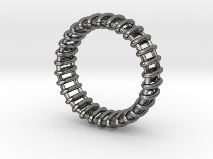 Small Structure Ring  3d printed