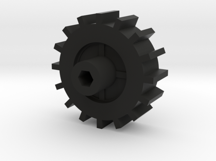 WPL Fitted Track Sprocket 3d printed