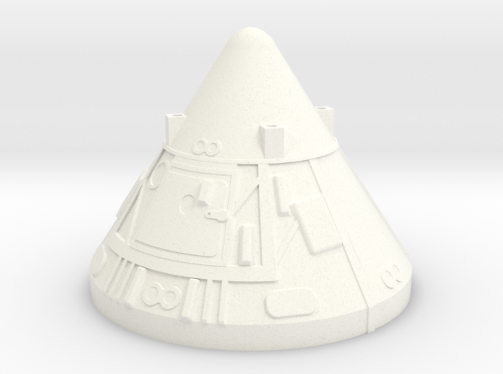 Apollo BPC 1:48 Version 2 Dragon 3d printed