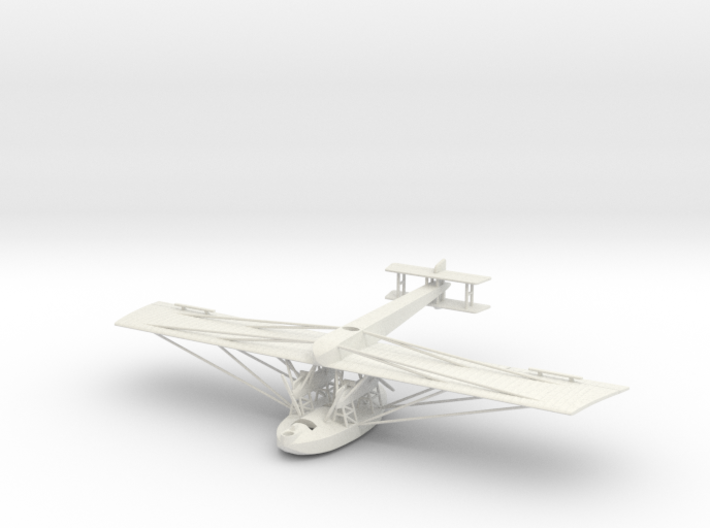 1:200 Scale Zeppelin-Lindau Rs.III 3d printed