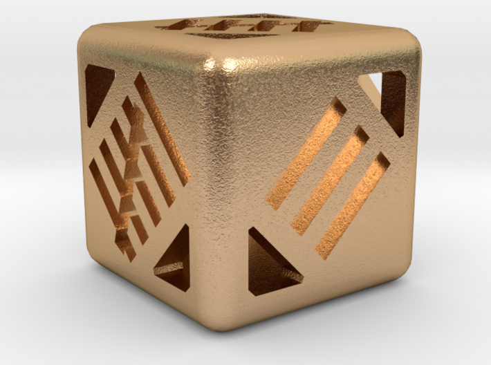 D6 12mm - Tally Marks 3d printed