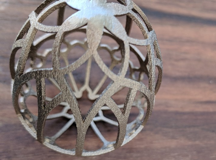 Gothic Egg Shell 2 3d printed