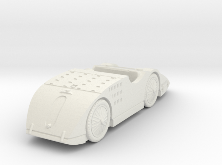 1/72 Bugatti Type 32 Tank 3d printed