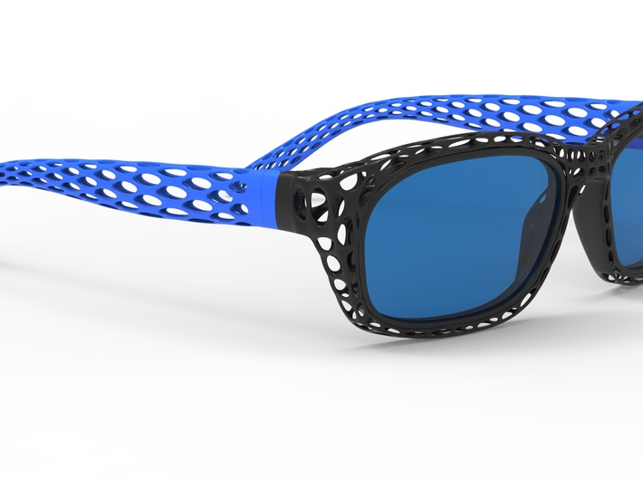new style sunglasses 3d printed render pic