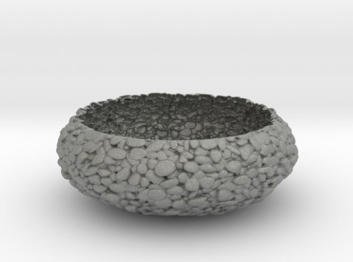 Pebbled Bowl 3d printed