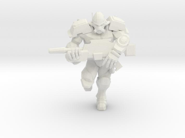 Enforcer Marine 2 3d printed
