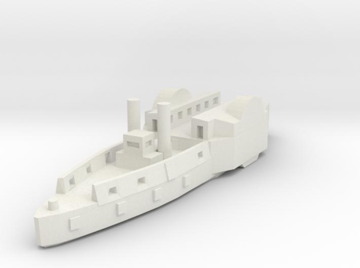 1/600 USS Conestoga/Tyler 3d printed