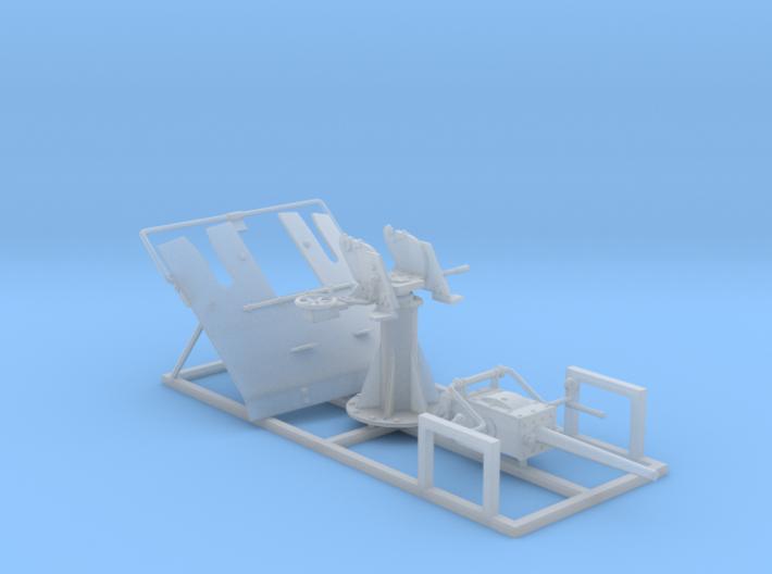 "1/72 3-pdr 1.85""/40 (47 mm) MKV Mounting 3d printed 1/72 3-pdr 1.85""/40 (47 mm) MKV Mounting"