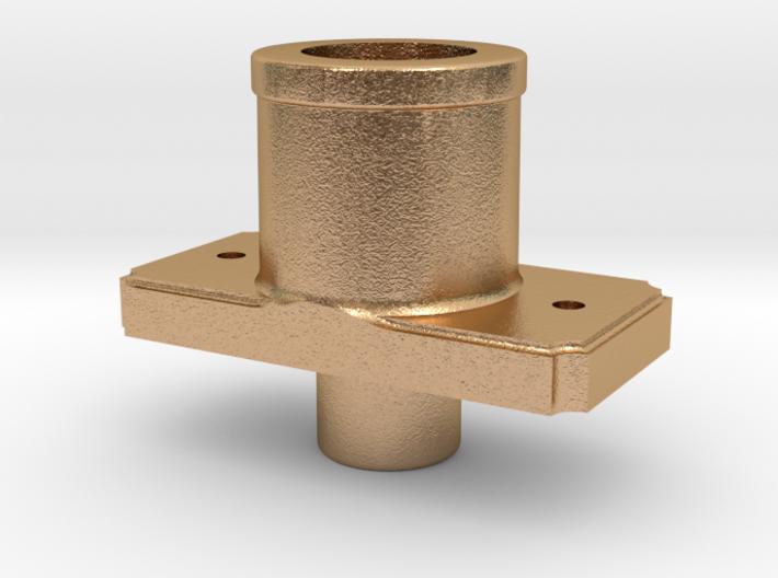 AC09 - FR Sprung Buffer body, Banded (SM32) 3d printed