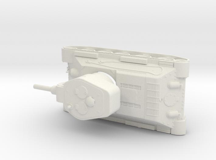 T 34 122 1/72 3d printed