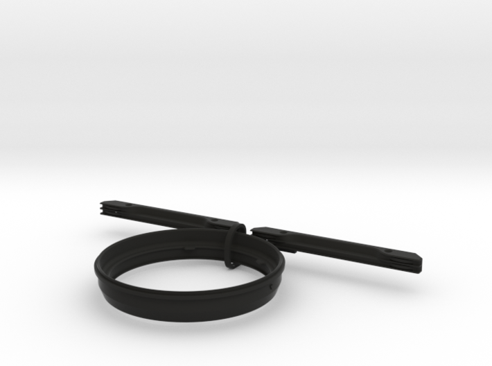 Adapter for M.Zuiko 7-14mm and Kase K8 holder 3d printed