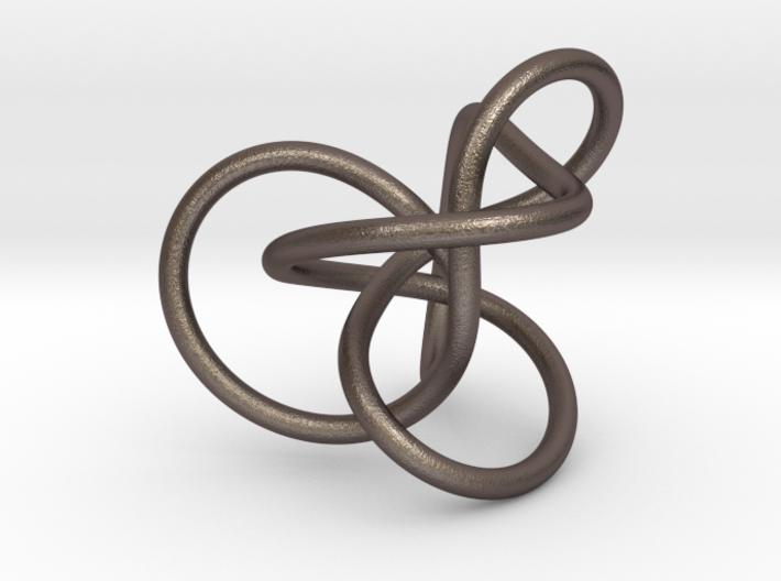 Steel Midway Perko Knot 3d printed