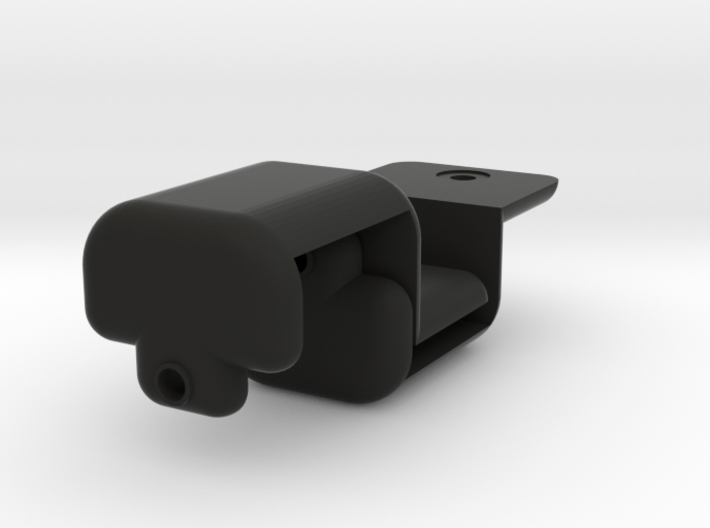 2 onewheel light brackets for lume cube 3d printed