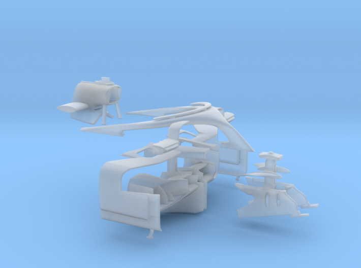 1/20 SF71H conversion parts 3d printed
