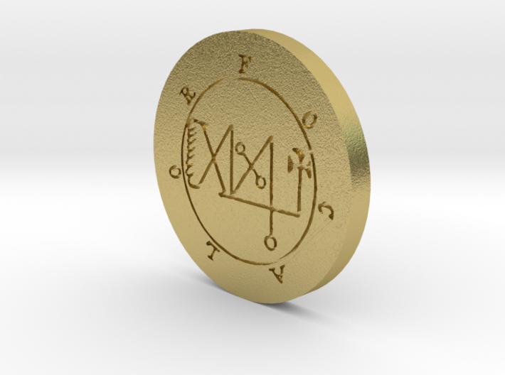 Focalor Coin 3d printed