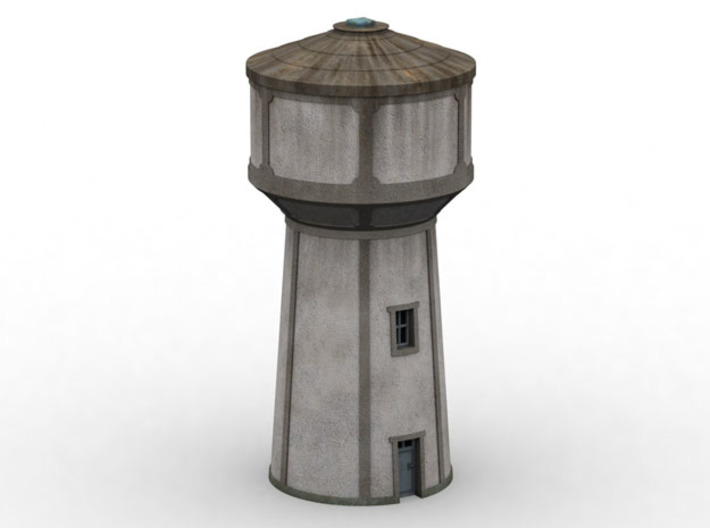 C-Nus02 - Water tower 3d printed
