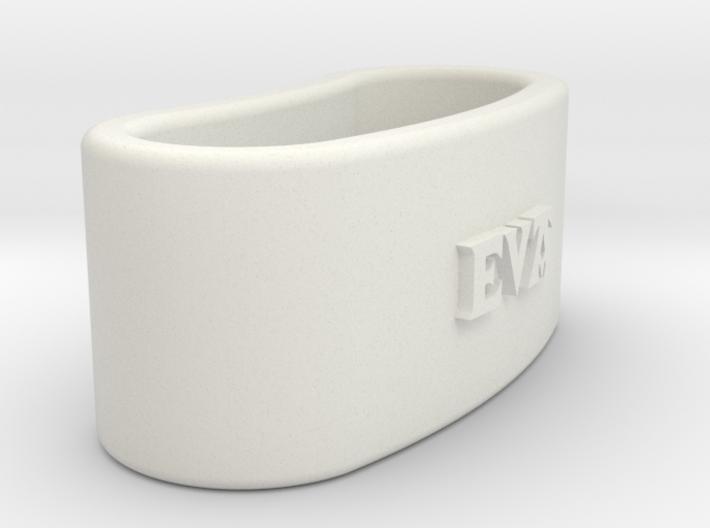 EVA napkin ring with lauburu 3d printed