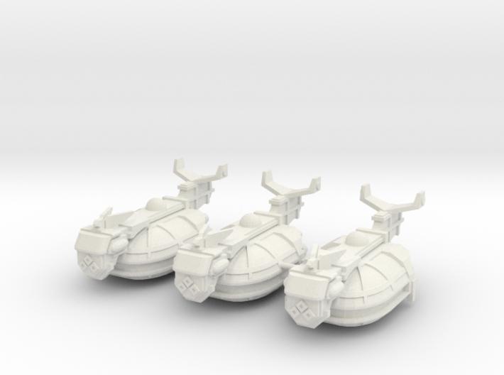 Escolta de Renombre Viajero x3 3d printed