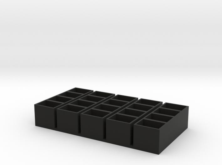 quad long 11x15x14 speaker box qty5 3d printed