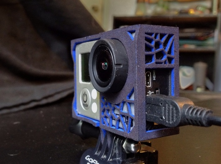 Gopro ICY case 3d printed