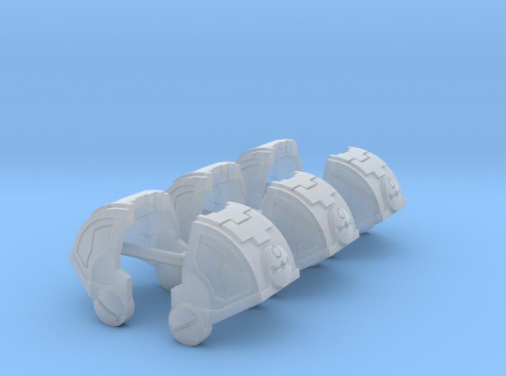 Standard Mech Curved Shoulder Kilo 1 3d printed