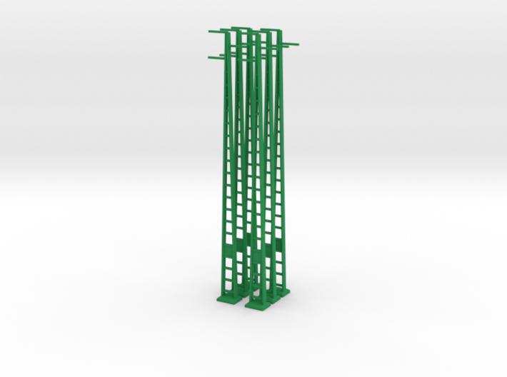 Strommast 25Kv 6 Stück 3d printed