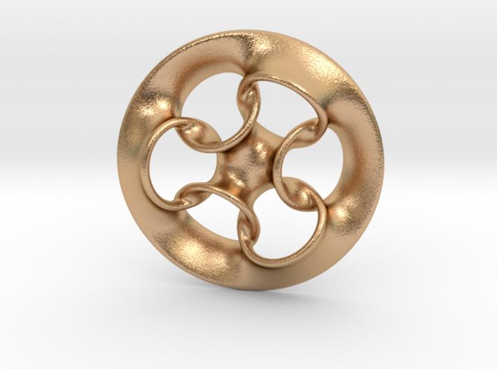 """Seven Rings"" 3d printed"