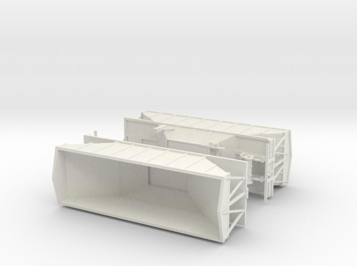 1/50th Wesco type Hopper bottom trailers 3d printed