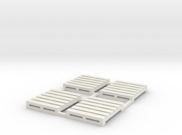 Pallet-1 (4 Ea.) 3d printed Part # PL-001