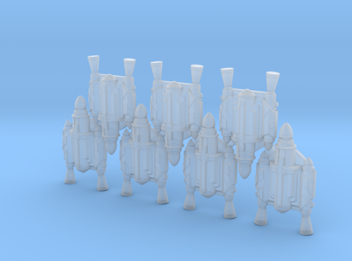 Father Jetpacks (x7) 3d printed