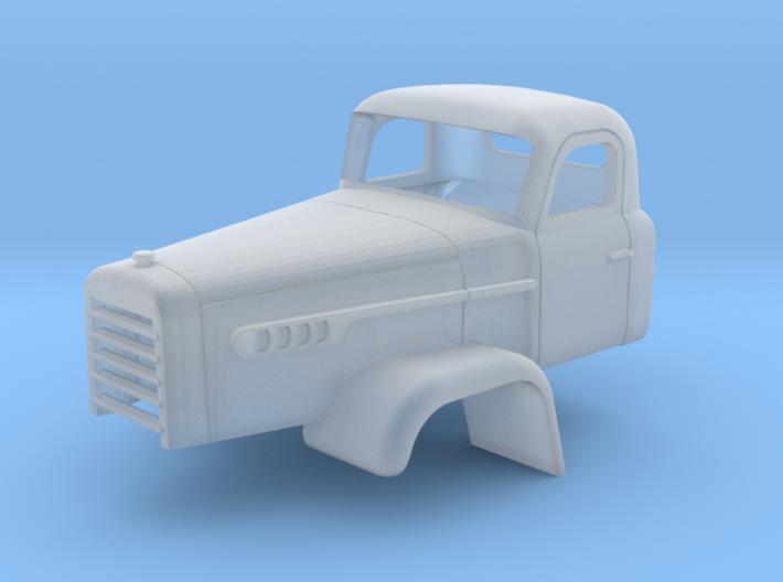 FWD Auto Company Cab 1-87 HO Scale 3d printed